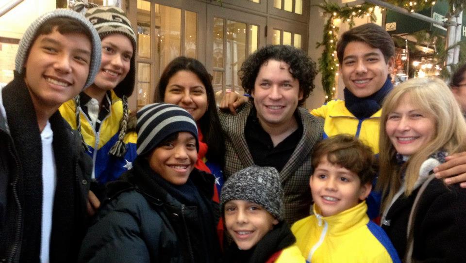 Siman Orchestral Foundation y Gustavo Dudamel